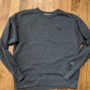 Men's Navy Champion sweatshirt